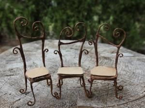 Fairy chair tutorial fairy garden house miniature from beneath the ferns #beneaththeferns #fairyfurniture 17