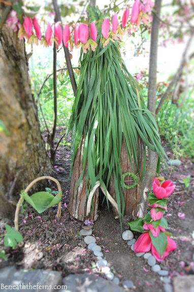 Fairy garden miniature house for fairies