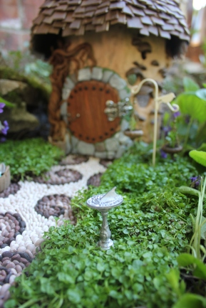 Fairy house fairy garden miniatures at beneaththeferns.w... #Fairyhouse #fairygarden #miniature #beneaththeferns 3