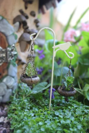 Fairy house fairy garden miniatures at beneaththeferns.w... #Fairyhouse #fairygarden #miniature #beneaththeferns 4
