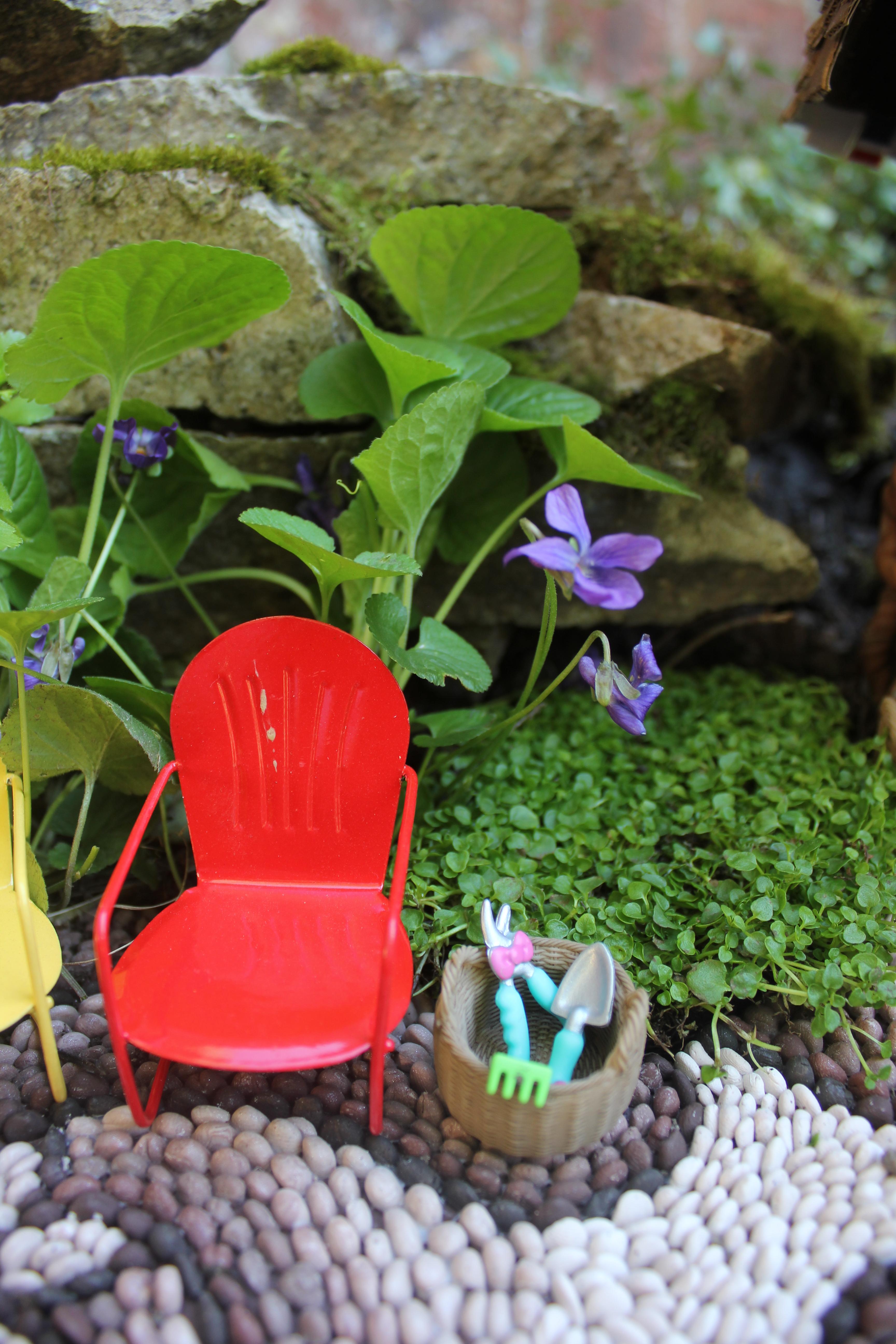 How To Make A Miniature Garden Path Beneath The Ferns