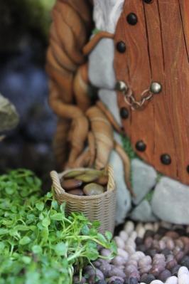 Fairy house fairy garden miniatures at beneaththeferns.w... #Fairyhouse #fairygarden #miniature #beneaththeferns 9