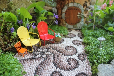 Fairy house fairy garden miniatures at beneaththeferns.w... #Fairyhouse #fairygarden #miniature #beneaththeferns