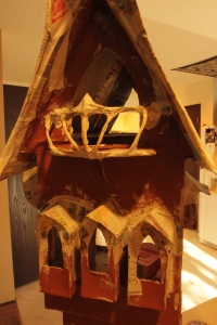 Fairy house in progress by Beneath the Ferns 2
