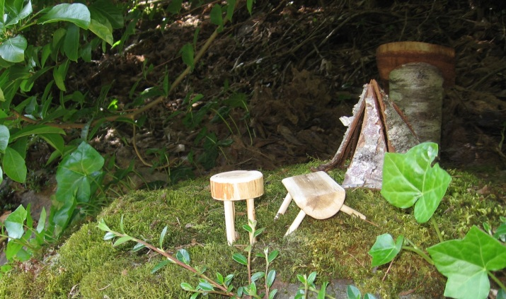 Fairy garden miniature camp gnome home 5