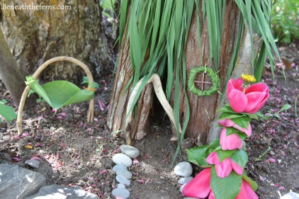 Fairy house nature craft garden miniature