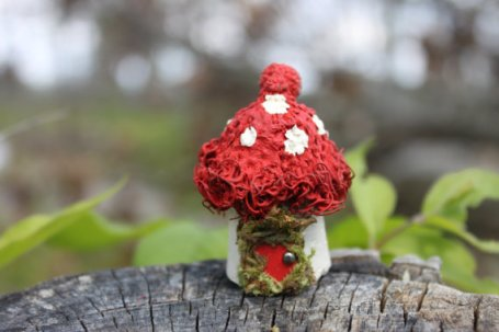Fairy gardens accessories miniature mushroom by Fairy Creek Lane