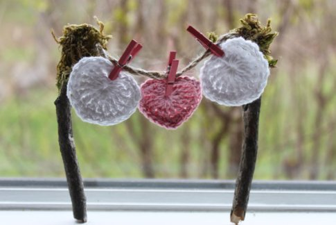 Fairy gardens supplies miniature clothesline by Fairy Creek Lane