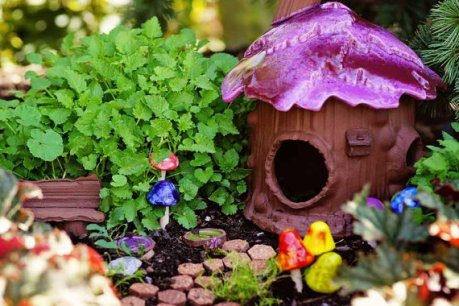 Fairy house miniature gnome home by Roo Pottery