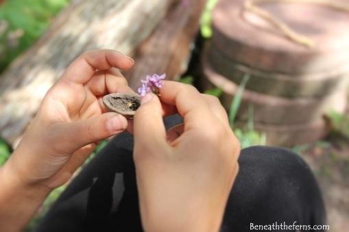 Fairy house nature kids craft garden miniature