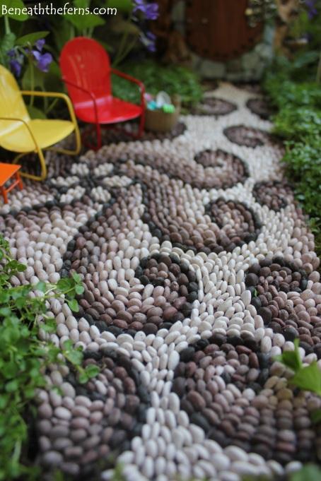Fairy garden path mosaic fairy house fairy garden beneath the ferns #beneaththeferns #fairygarden 1
