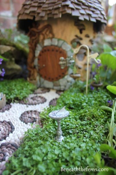 Fairy house fairy garden miniatures at beneaththeferns.w... #Fairyhouse #fairygarden #miniature #beneaththeferns 3
