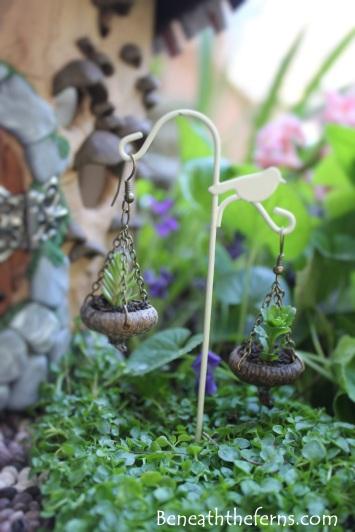 Fairy house fairy garden miniatures at beneaththeferns.w... #Fairyhouse #fairygarden #miniature #beneaththeferns 4