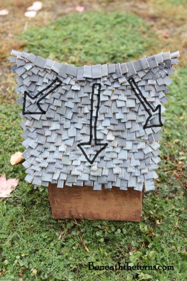 Fairy house tutorial DIY how to by beneaththeferns directions