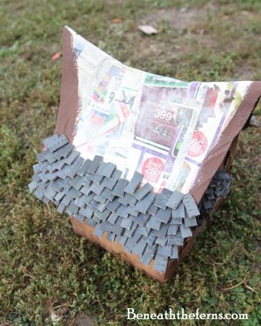 Miniature dollhouse fairy house tutorial by Beneath the Ferns